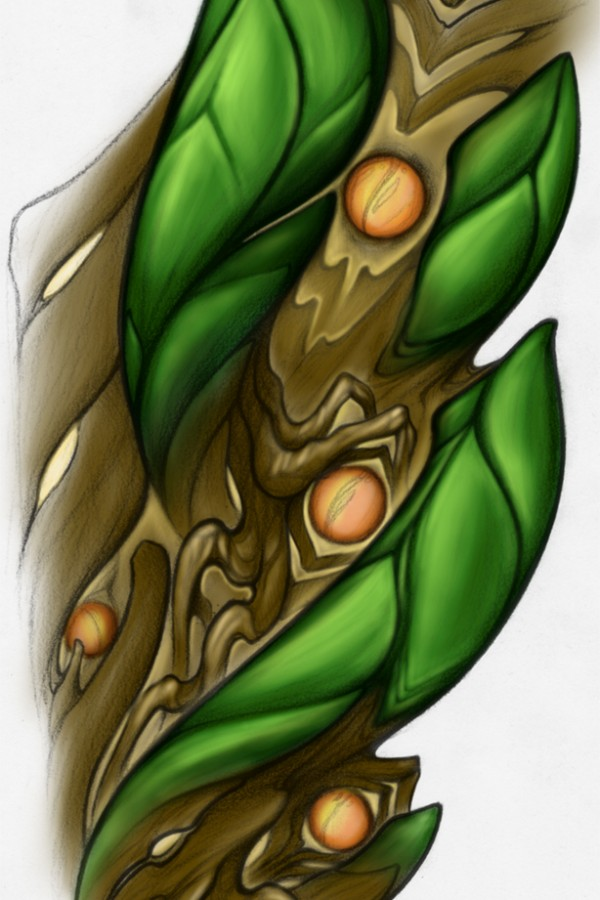 tattoo-digital-artwork-abstract-biomech-tree-renegolker-voltfoltertattoostudio